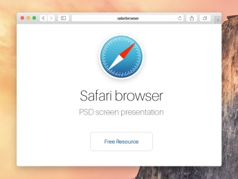 Psd-Safari-Yosemite-Browser-Mockup